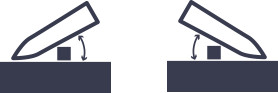 両刃の場合のイメージ
